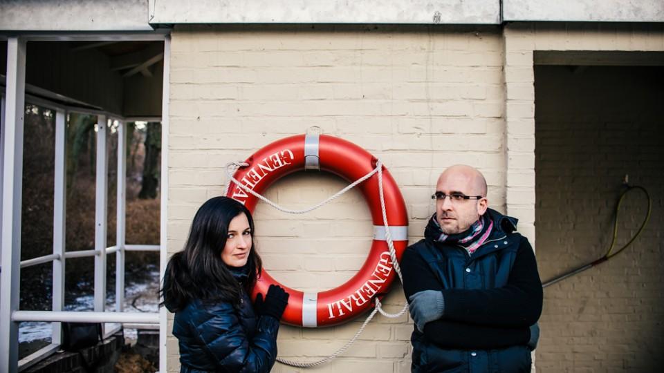 Lovebird-Shooting in Hamburg-Eppendorf mit Kaddy und Chris